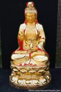 Big Bronze népalaise Bouddha Shakyamuni Statue bouddhiste Art Garden Bouddhisme