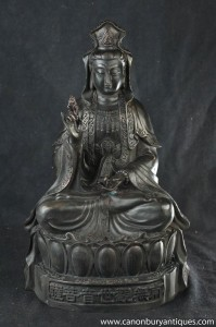 Bronze birmane Shakyamuni Bouddha Statue bouddhisme bouddhiste