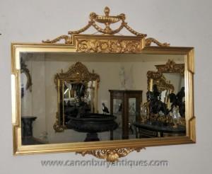 Anglais Gilt Adams Mantle verre miroir Miroirs classique