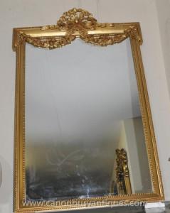 Anglais Gilt Adams Pier Miroir Regency Miroirs