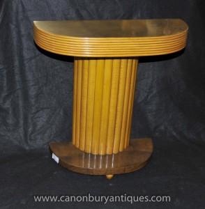Art déco classique Table Console 1920 de Hall tableaux