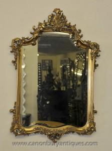 George II Gilt Pier verre miroir Miroirs