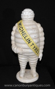 Grand Cast Iron Man Statue français Michelin Bibendum Statue Michellin