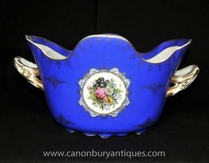 Porcelaine de Dresde Soupière Platter Plat Bowl