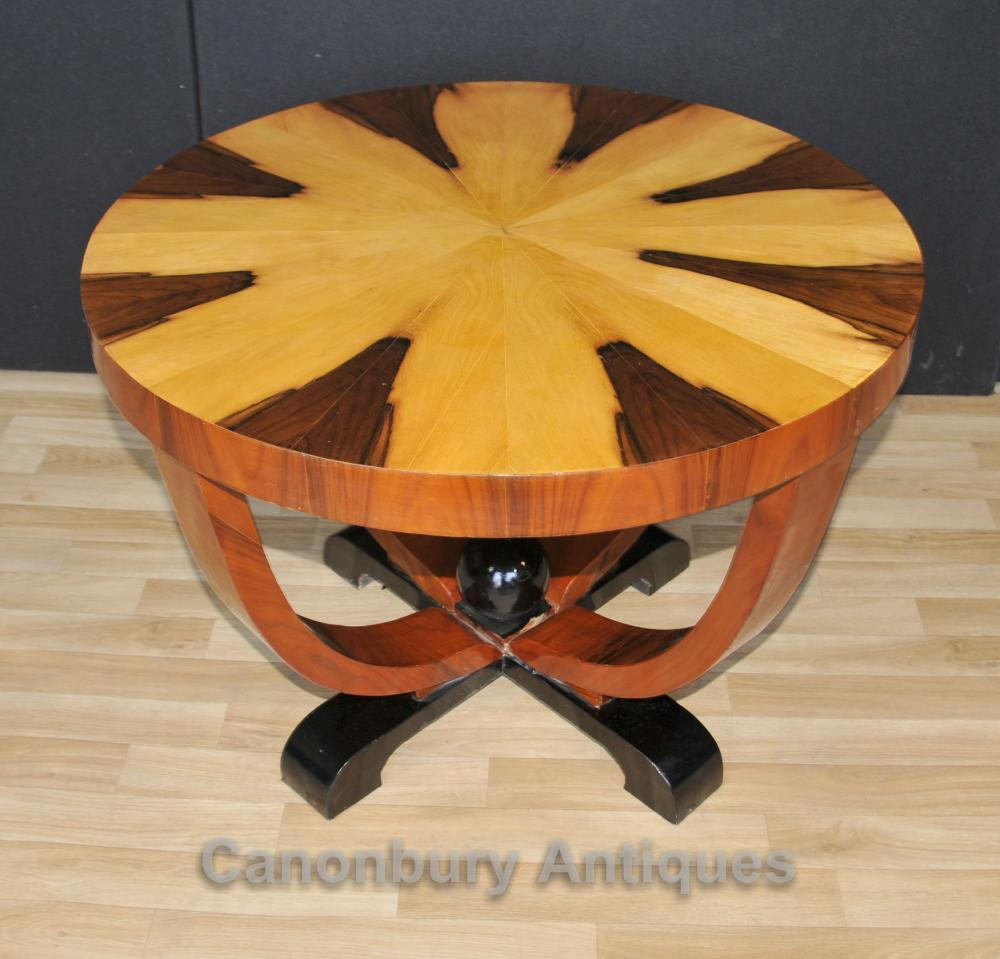 Art Deco Side Table Tables rondes de cocktail