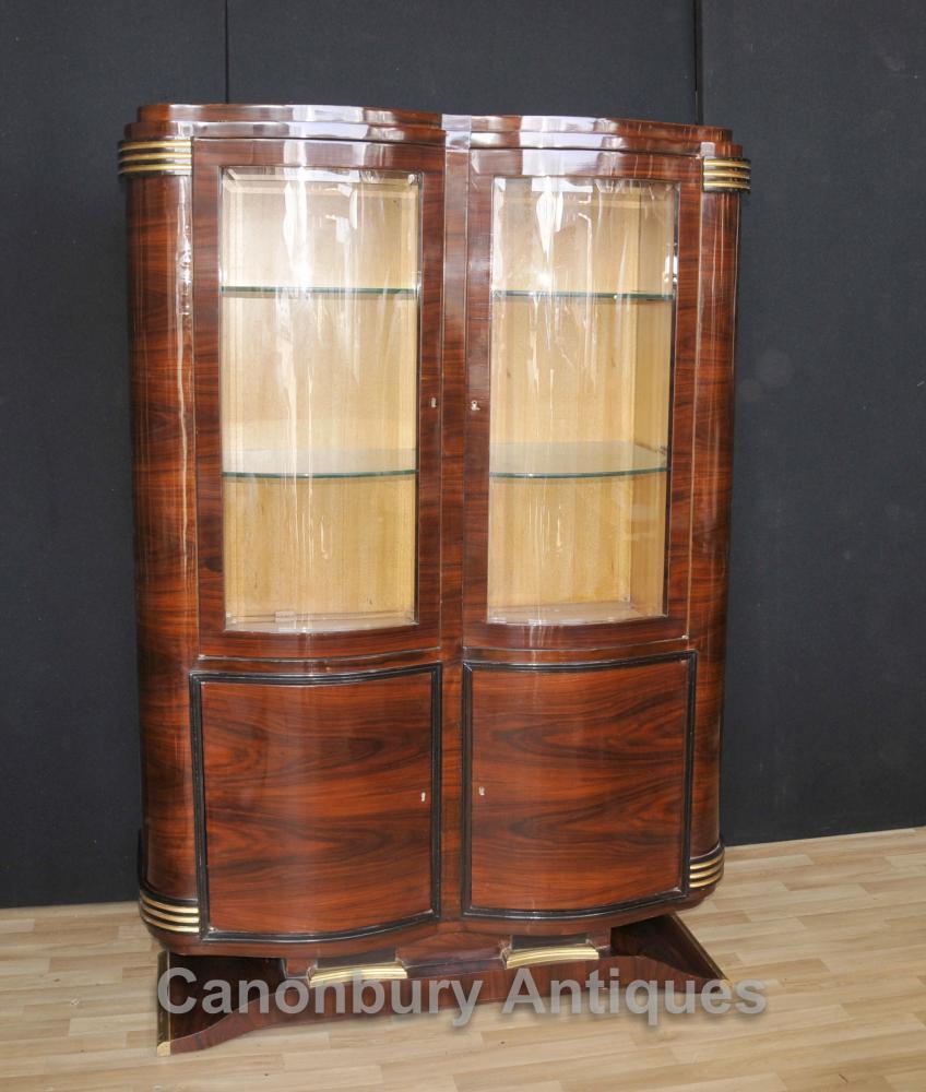 Big Art Deco Cabinet Display Etagère 1920 Vintage Intérieurs