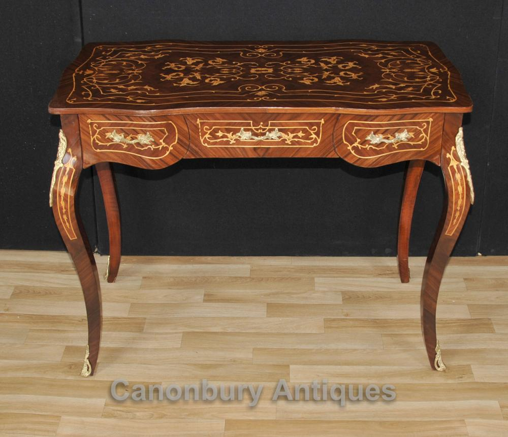 Français Empire bureau Bureau Table Plat Du Dame