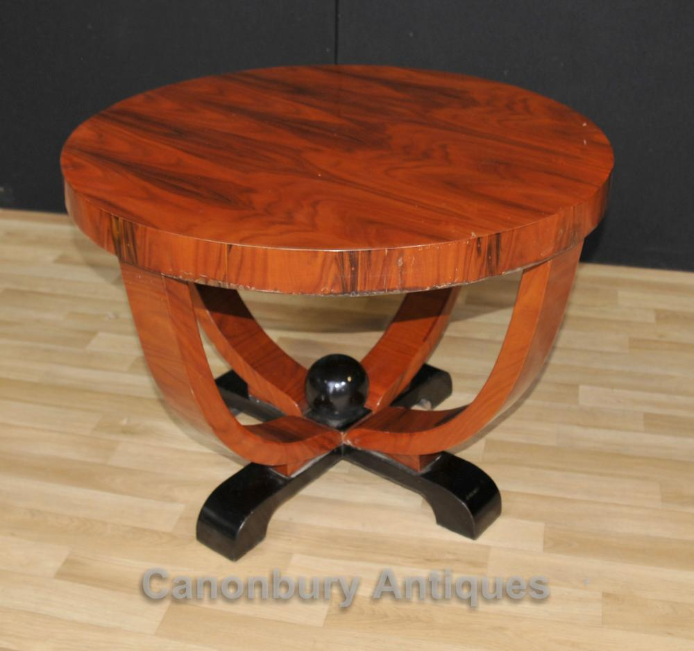 Art Deco Side Table Cocktail Tables Acajou Meubles