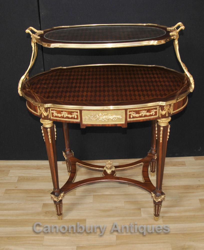 Français Empire Etagere étagées Table Pâtisserie Tables Kingwood
