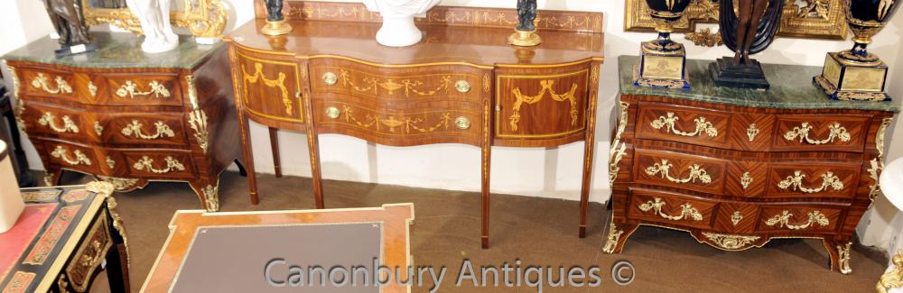 Paire Grand Empire Bombe Commodes Commodes Kingwood
