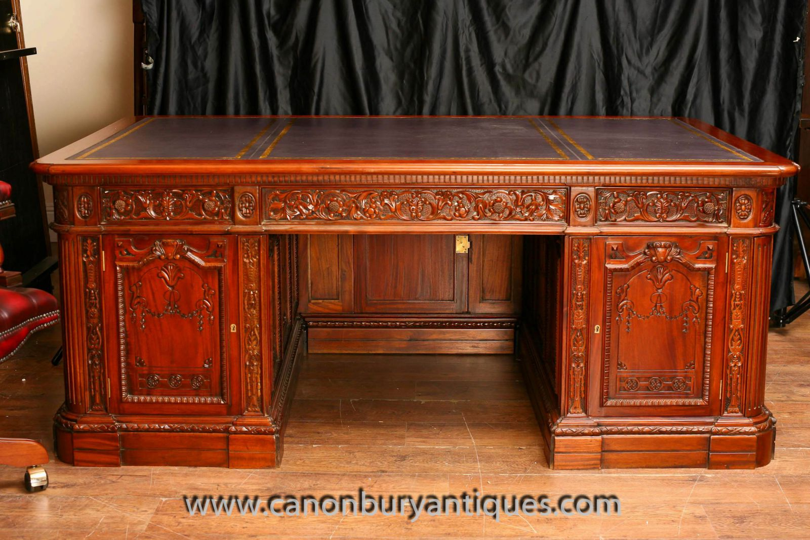 American Presidents Desk Oval Office White House www_canonburyantiques_com (4)-2-2