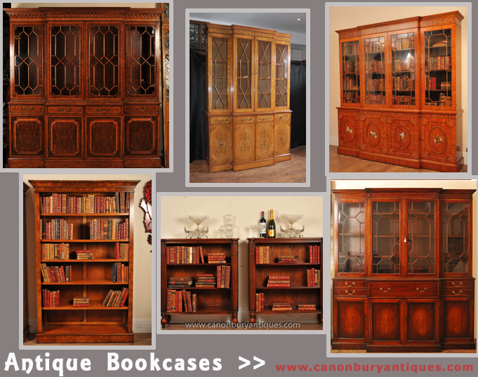 Antique Bookcases Canonbury Antiques (1)