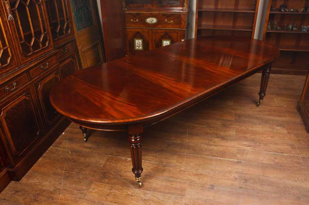 Extending Mahogany Victorian Dining Table