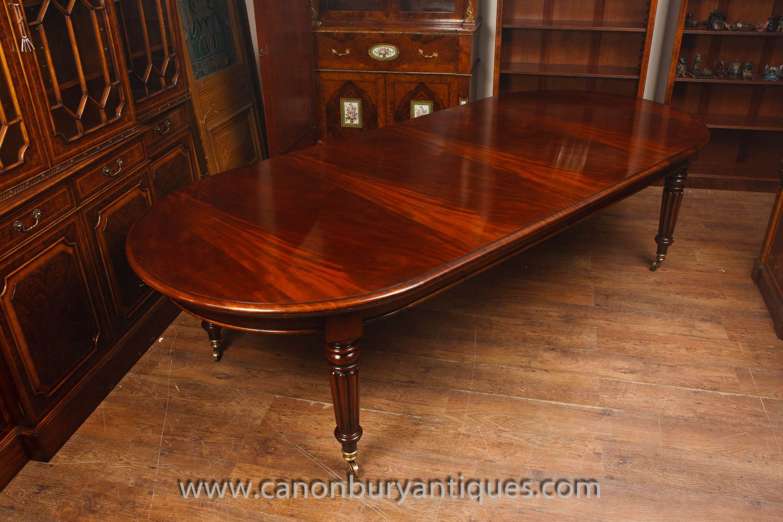 Extending Mahogany Victorian Table www_canonburyantiques_com (4)-2