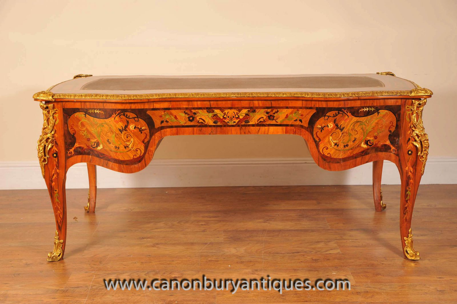 Louis XV Bureau Plat Desk Writing Table www_canonburyantiques_com (9)-2-2