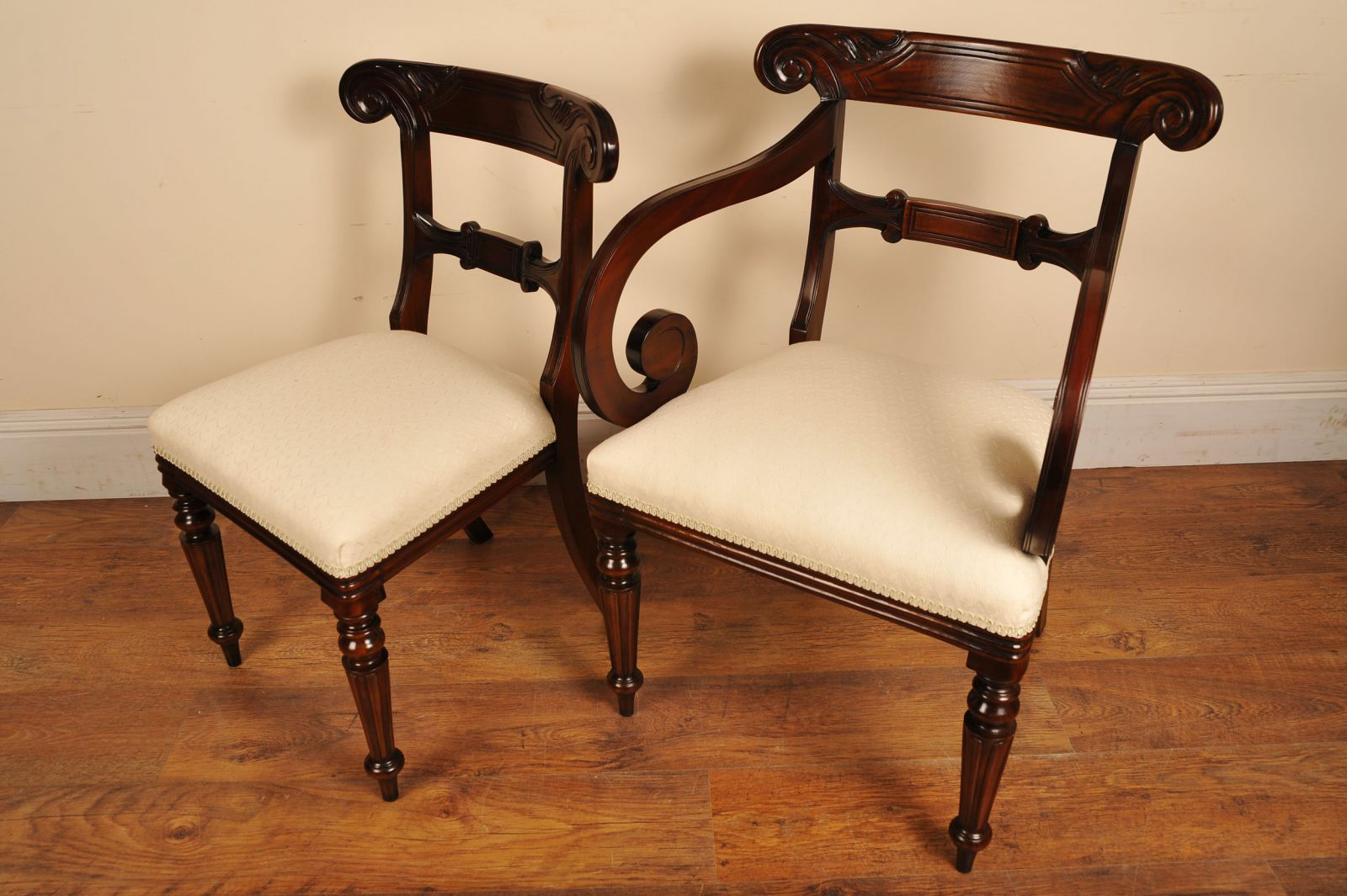 Set Antique William IV Dining Chairs www_canonburyantiques_com (10)