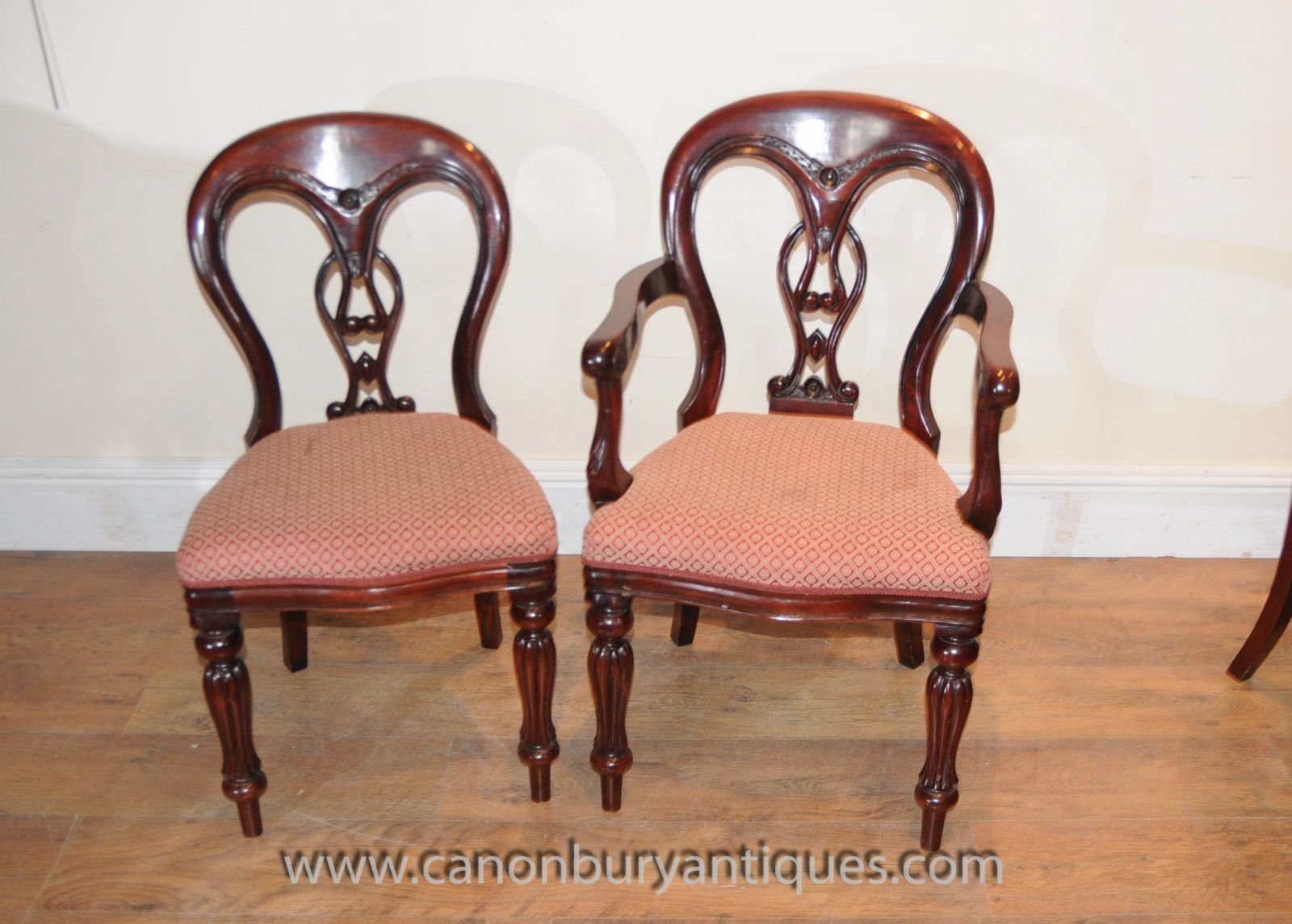 Victorian Dining Chairs www_canonburyantiques_com (2)-2