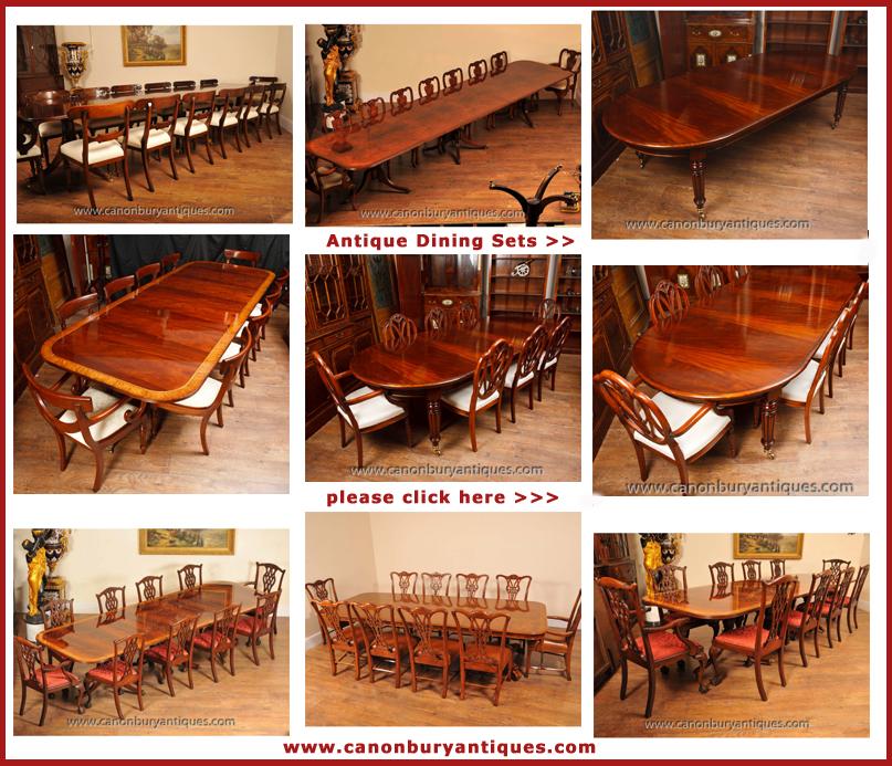 antique dining sets