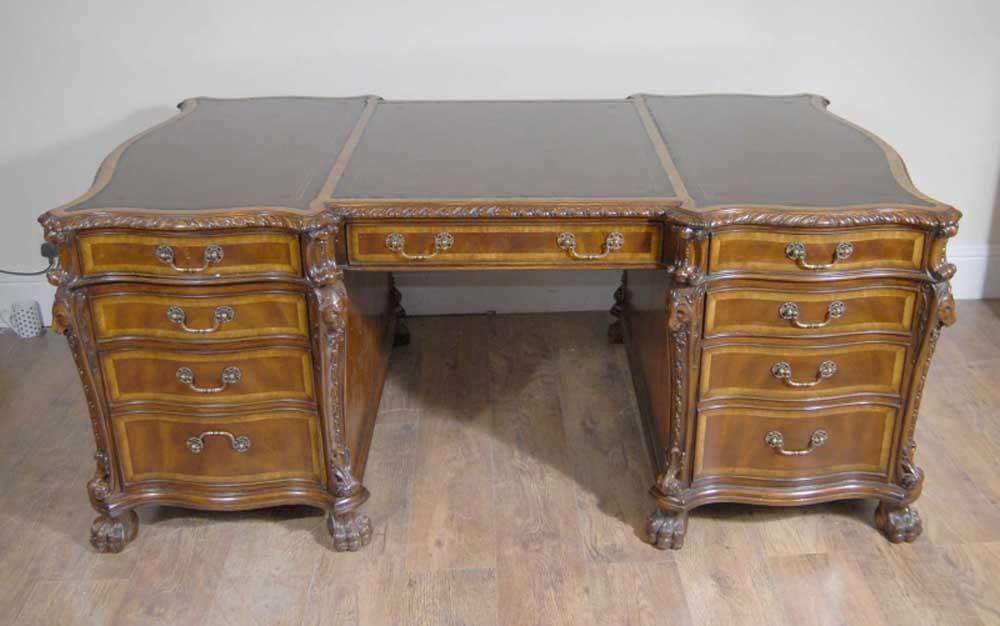 english-mahogany-regency-lionshead-partners-desk