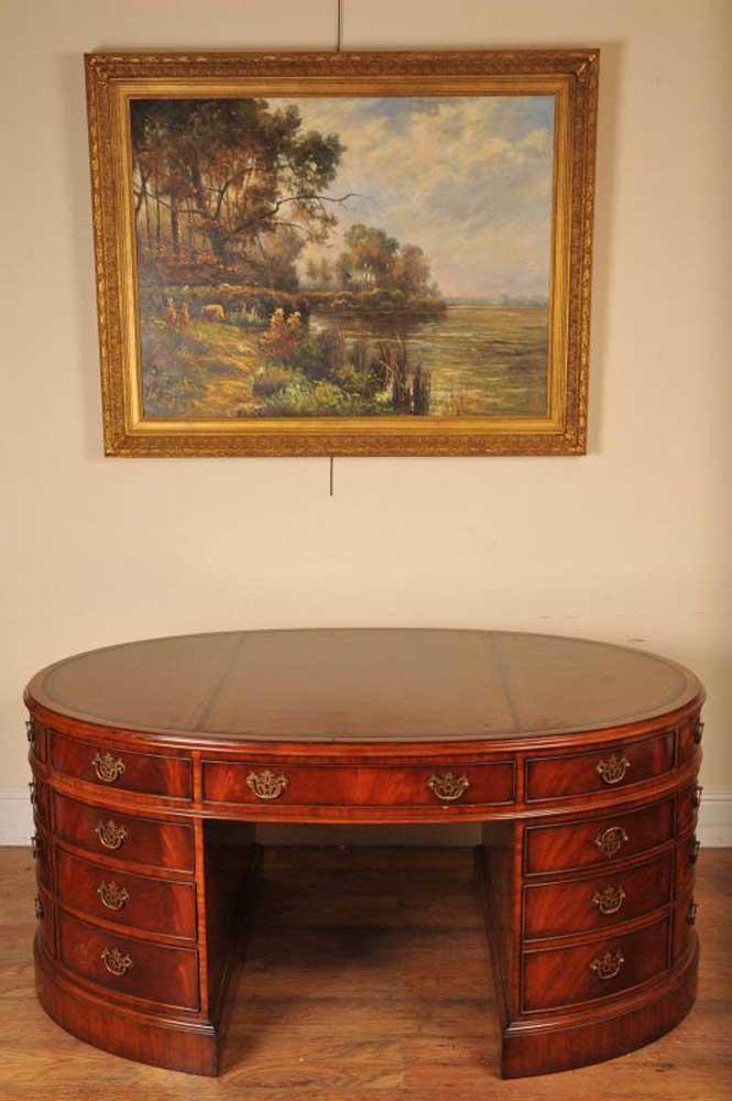 victorian-mahogany-partners-desk-oval