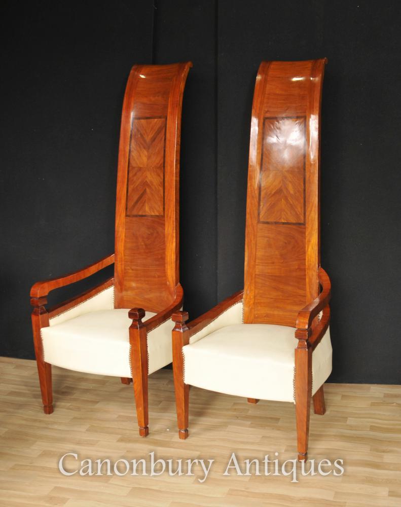 Président Paire Art Deco Grand Retour Fauteuils Modernist Interiors