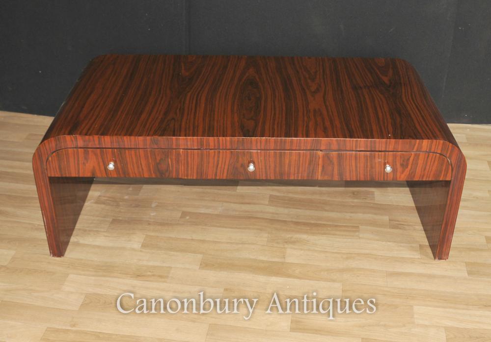 Table Art Déco Café Rosewood 1920 Interiors Furniture