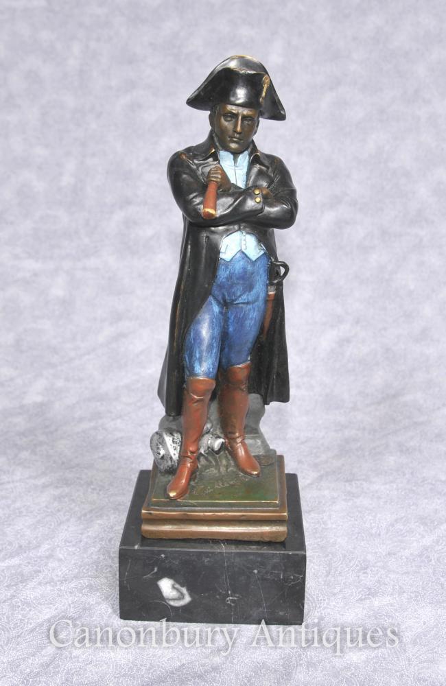 Bronze français Napoléon Statue par Guillemin empereur Napoléon