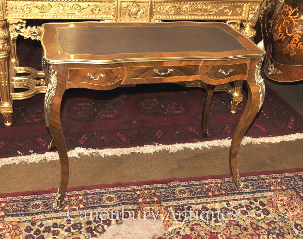 Empire français Bureau Bureau Plat Writing Table Kingwood
