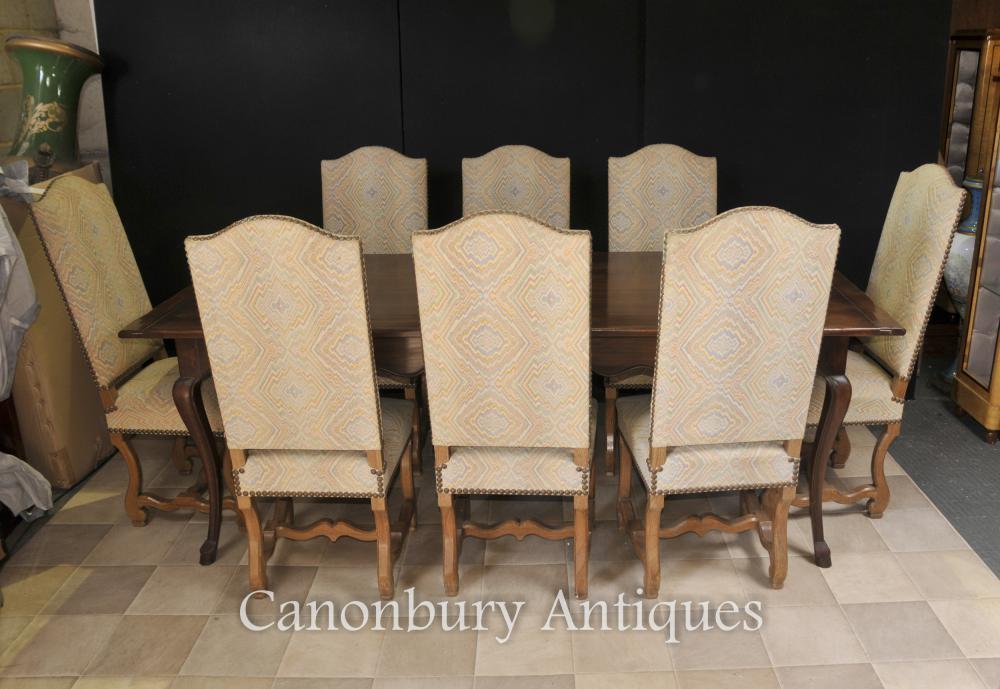 Engish Ferme Dining Set Réfectoire Table et chaises Cuisine Diner
