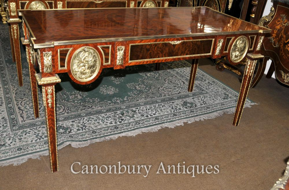 Français Empire bureau Table Bureau Plat Kingwood