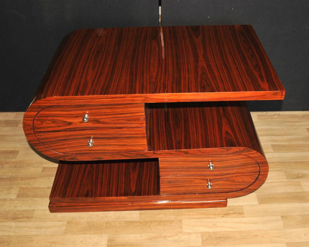 Shape Art Deco Coffee Table Rosewood moderniste Meubles