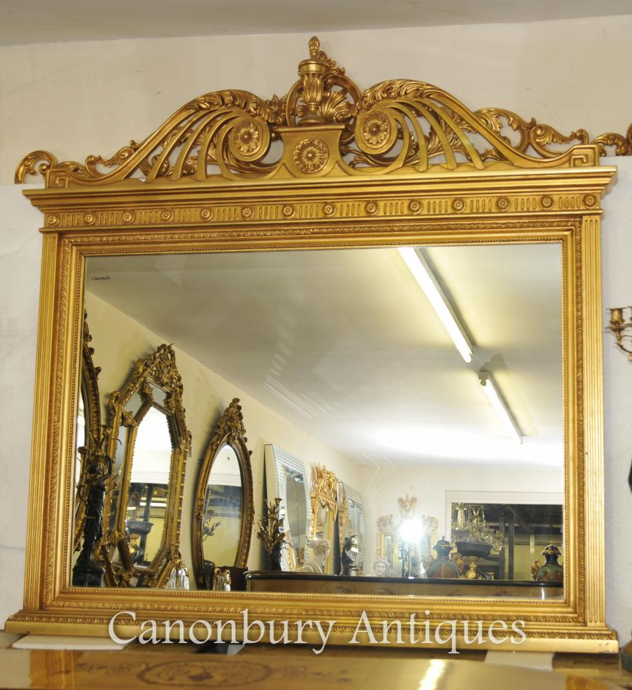 Anglais Adams Gilt Miroir Miroirs Verre Miroir