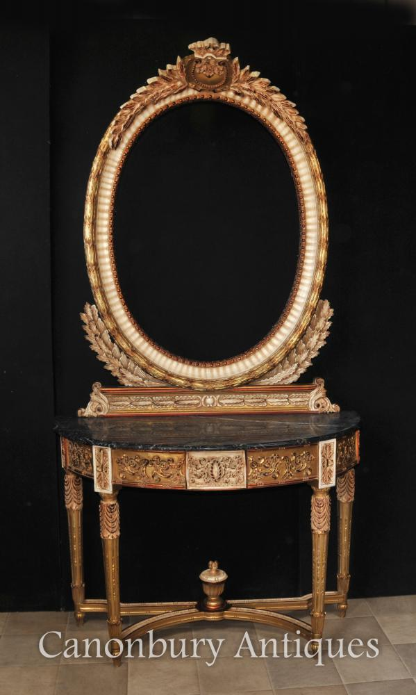 Ensemble de table et de miroir