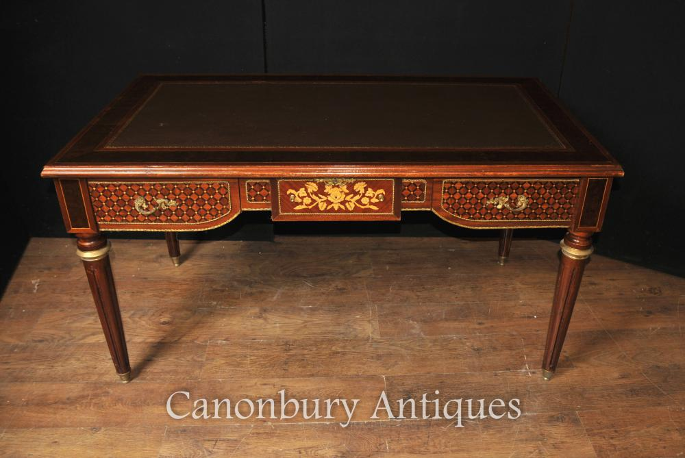 French Empire Bureau Bureau Marquet