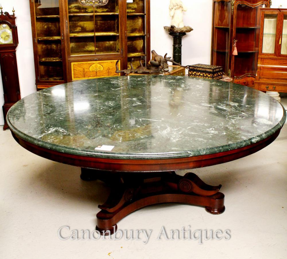 Tables D 39 Acajou Archives Antiquites Canonbury