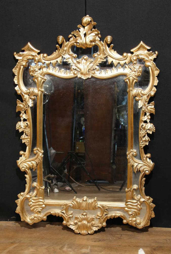 Miroir rococo archives antiquites canonbury for Miroir in english