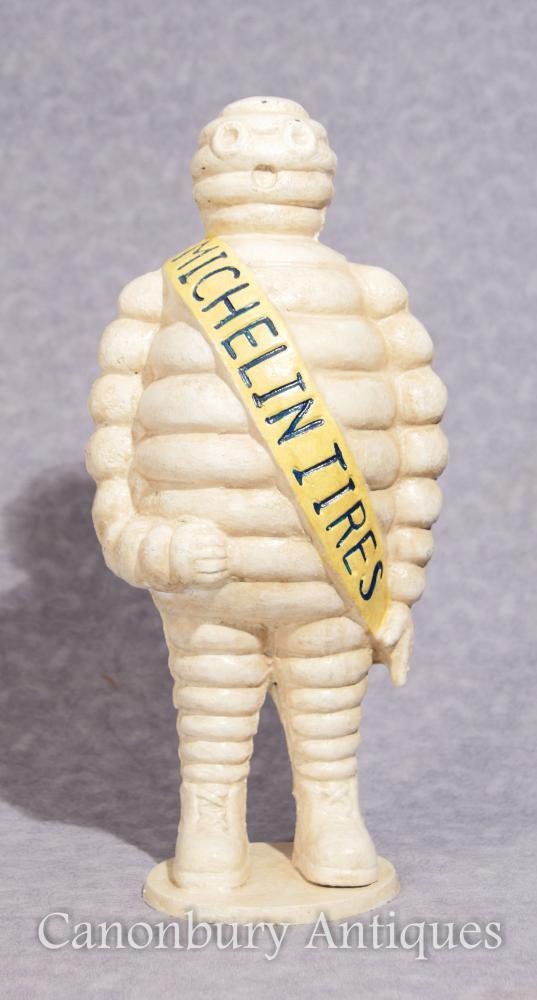 Fonte de fonte française Michelin Man Bibendum Statue Casting