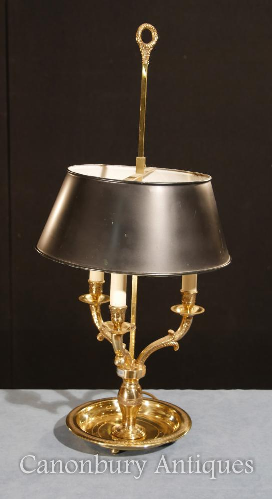 Regency Ormolu Lampe de table Candelabras Light