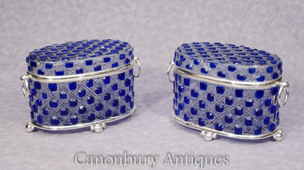 Boîte à bijoux Victorian Silver Cut