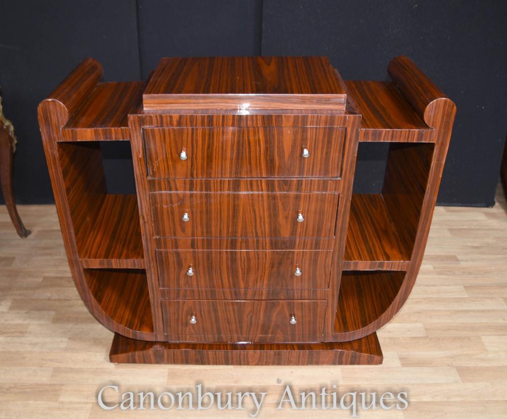 Commode art déco meubles Commode des années 1920 de poitrine