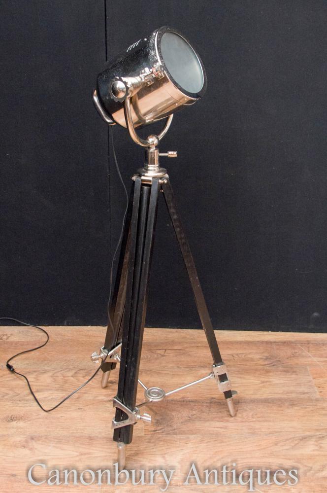 Lampe de table pour studio de lumière chromée Lampe de table ajustable