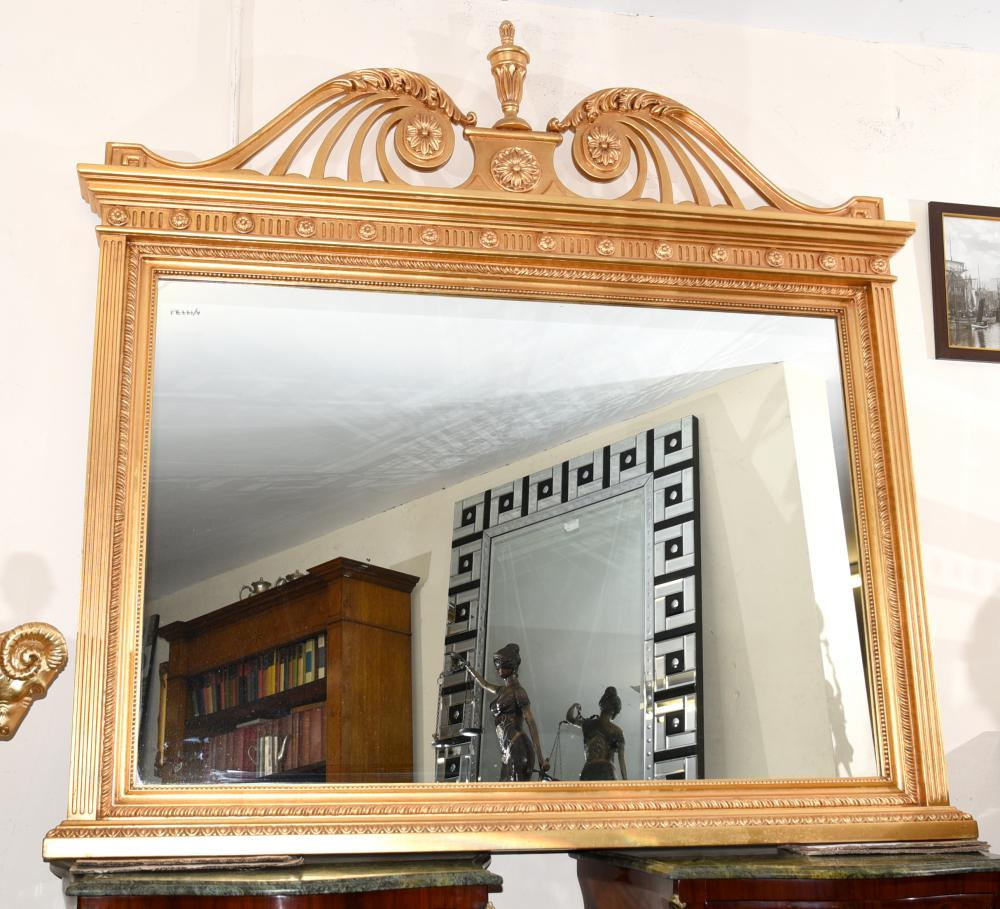 Miroir en verre miroir Adams Gilt en anglais