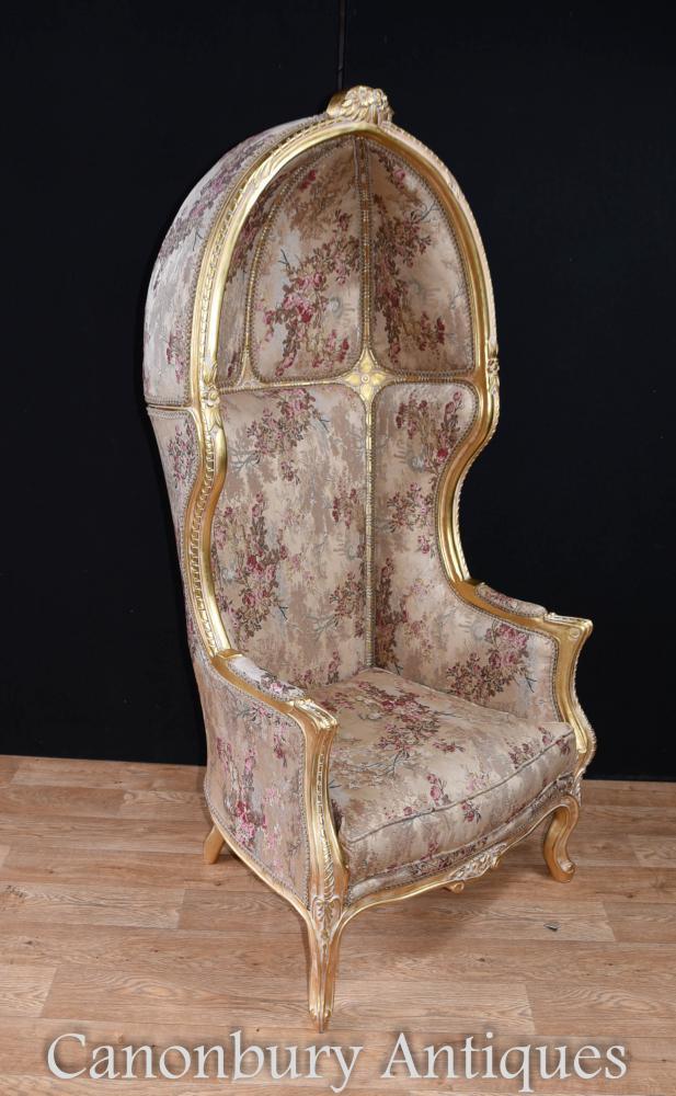Regency Gilt Porters Chaises de fauteuil