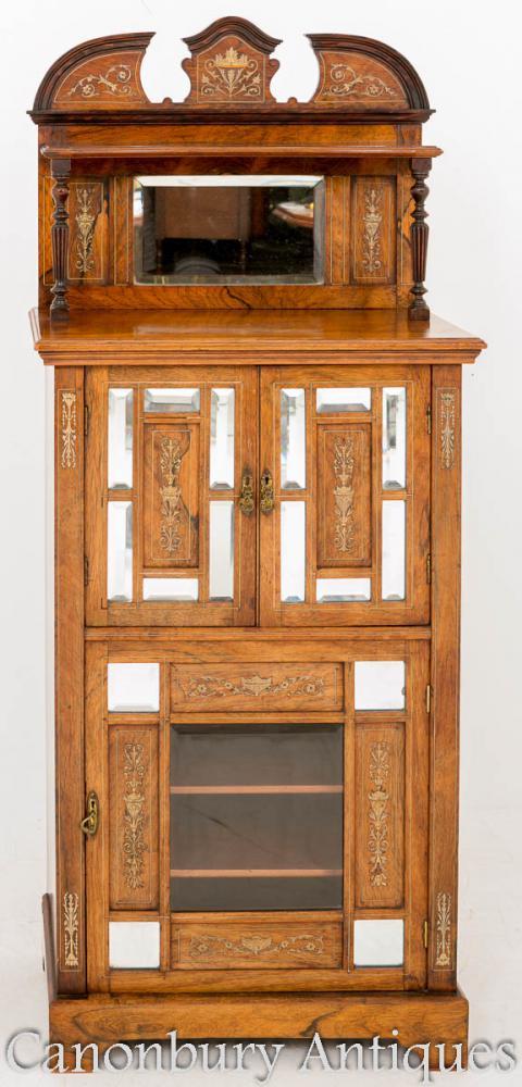 Cabinet musical victorien de Rosewood 1880