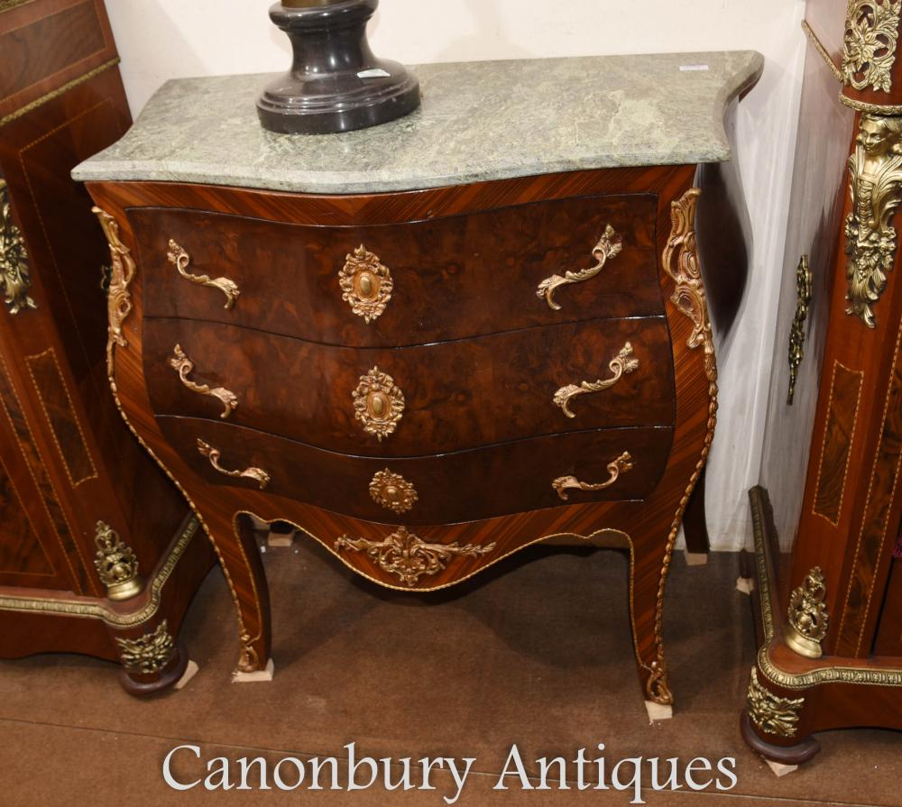 Commode à commode unique Bombe Empire français
