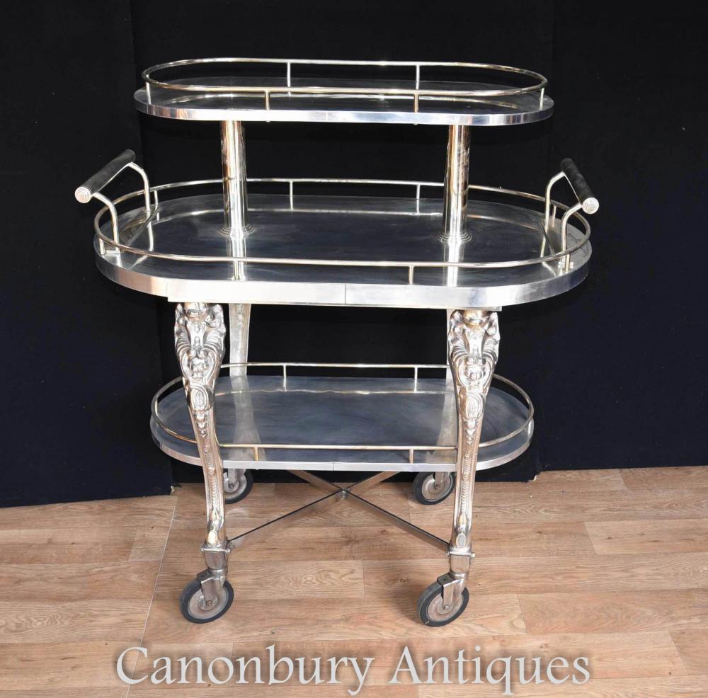 chariot nourriture en plaque d 39 argent archives antiquites canonbury. Black Bedroom Furniture Sets. Home Design Ideas