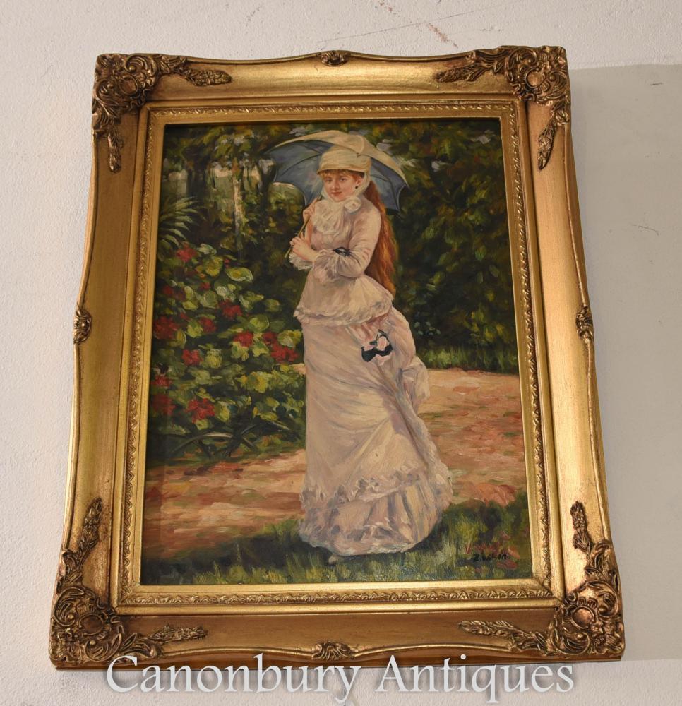 Peinture à l'huile préraphaélite anglaise Ophelia Maiden River Portrait