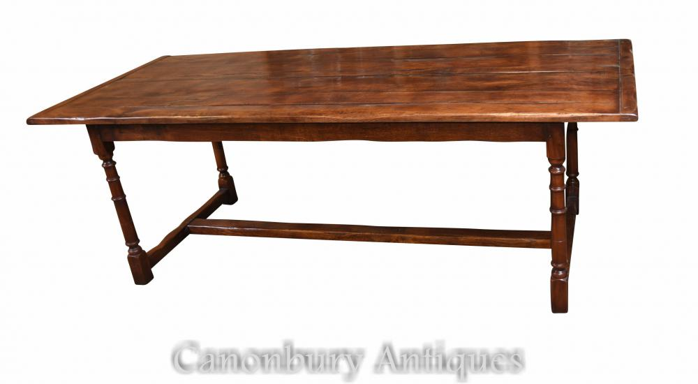 Slim Refectory Table Meuble en bois de chêne en anglais