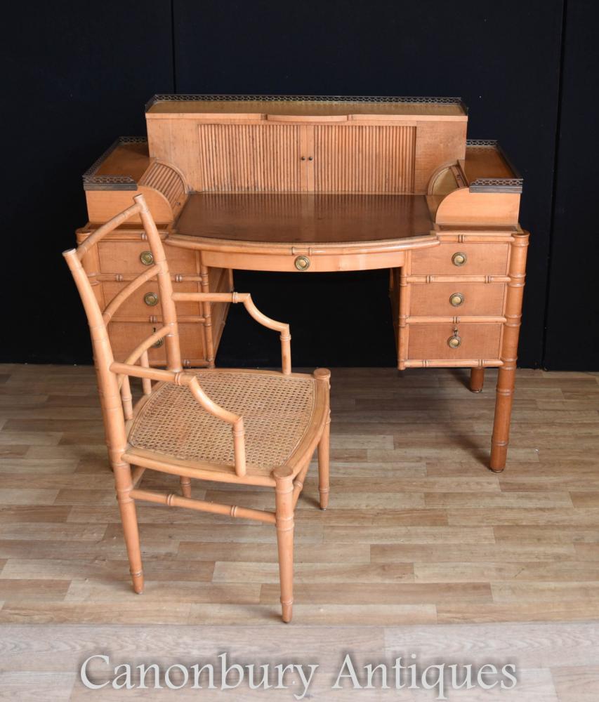 Table à écrire et à écrire Regency Bamboo