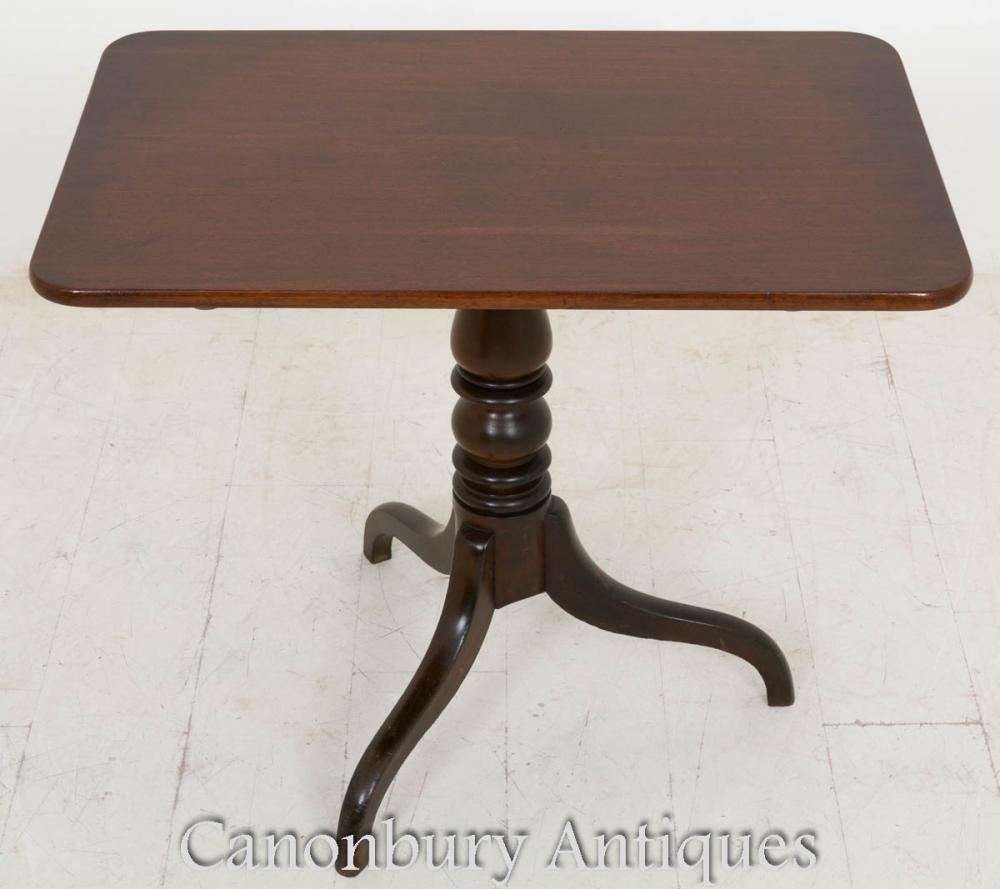 Table de vin George III Table d'appoint en acajou 1800